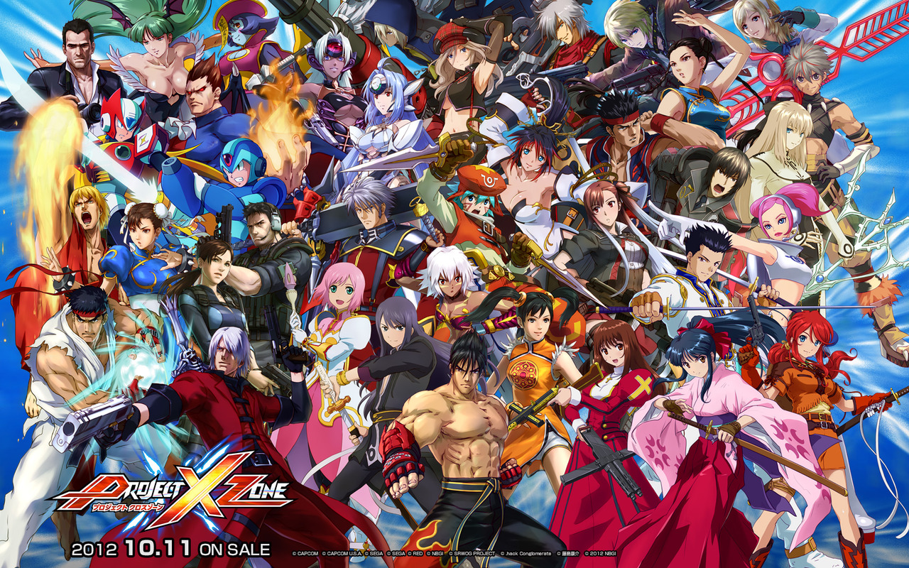Project x zone available this june voltagebd Images